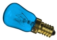This is a 15W 14mm SES/E14 Pygmy bulb that produces a Blue light which can be used in domestic and commercial applications