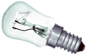 This is a 15W 14mm SES/E14 Pygmy bulb that produces a Clear light which can be used in domestic and commercial applications