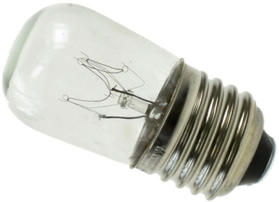 This is a 15W 26-27mm ES/E27 Pygmy bulb that produces a Clear light which can be used in domestic and commercial applications