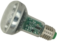 This is a 11W 26-27mm ES/E27 Reflector/Spotlight bulb that produces a Very Warm White (827) light which can be used in domestic and commercial applications
