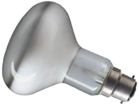 This is a 40W 22mm Ba22d/BC Reflector/Spotlight bulb that produces a Diffused light which can be used in domestic and commercial applications