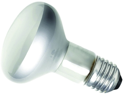This is a 75W 26-27mm ES/E27 Reflector/Spotlight bulb that produces a Diffused light which can be used in domestic and commercial applications