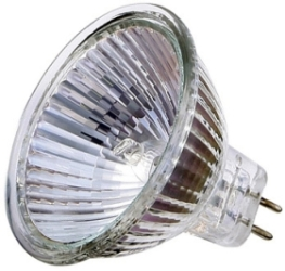 This is a 50W GX5.3/GU5.3 bulb that produces a Silver light which can be used in domestic and commercial applications