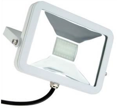 This is a 30 W Flood Light bulb that produces a Warm White (830) light which can be used in domestic and commercial applications