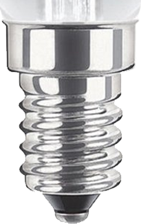 This is a 14mm SES/E14 light bulb cap base
