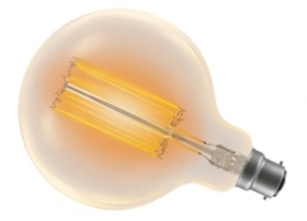 This is a 60 W 22mm Ba22d/BC Squirrel Cage bulb that produces a Very Warm White (827) light which can be used in domestic and commercial applications