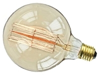 This is a 40 W 26-27mm ES/E27 Squirrel Cage bulb that produces a Warm White (830) light which can be used in domestic and commercial applications