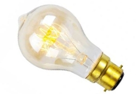 This is a 40 W 22mm Ba22d/BC Standard GLS bulb that produces a Very Warm White (827) light which can be used in domestic and commercial applications