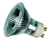 This is a 50W GU10 Reflector/Spotlight bulb that produces a Warm White (830) light which can be used in domestic and commercial applications