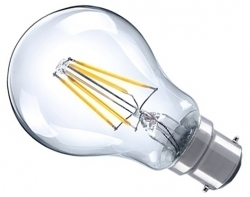 This is a 4 W 22mm Ba22d/BC Standard GLS bulb that produces a Very Warm White (827) light which can be used in domestic and commercial applications