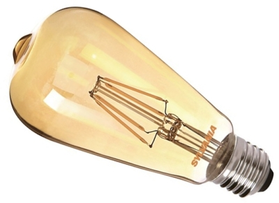 This is a 4 W 26-27mm ES/E27 Squirrel Cage bulb that produces a Very Warm White (827) light which can be used in domestic and commercial applications