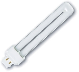 This is a 26 W G24Q-3 Multi Tube bulb that produces a White (835) light which can be used in domestic and commercial applications