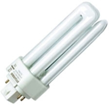 This is a 42 W G24q-4 Multi Tube bulb that produces a Warm White (830) light which can be used in domestic and commercial applications