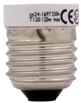 This is a 120W 26-27mm ES/E27 bulb which can be used in domestic and commercial applications