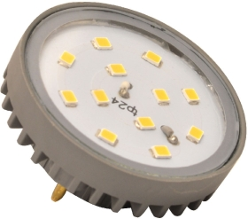 This is a 3.5W G40 Special bulb that produces a Warm White (830) light which can be used in domestic and commercial applications