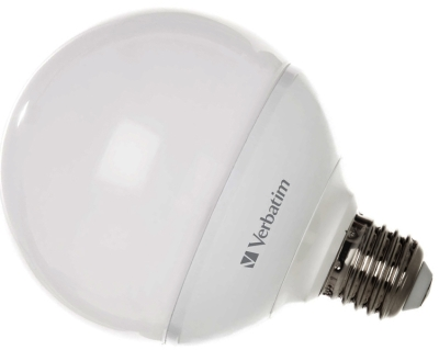 This is a 10 W 26-27mm ES/E27 Globe bulb that produces a Very Warm White (827) light which can be used in domestic and commercial applications