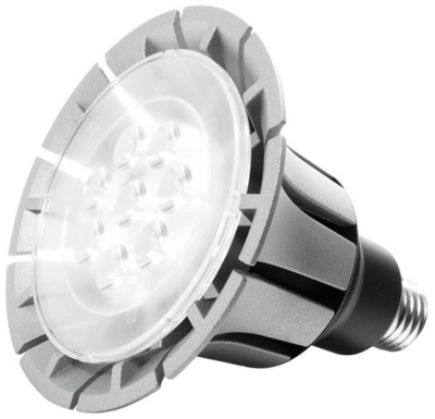 This is a 20 W 26-27mm ES/E27 Reflector/Spotlight bulb that produces a Warm White (830) light which can be used in domestic and commercial applications