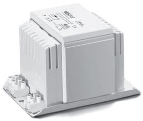This is a Standard Ballast ballast designed to run 400 W lamps which is part of our control gear range produced by Vossloh Schwabe