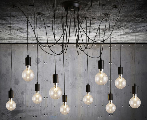interior design ideas using squirrel cage light bulbs rh bltdirect com